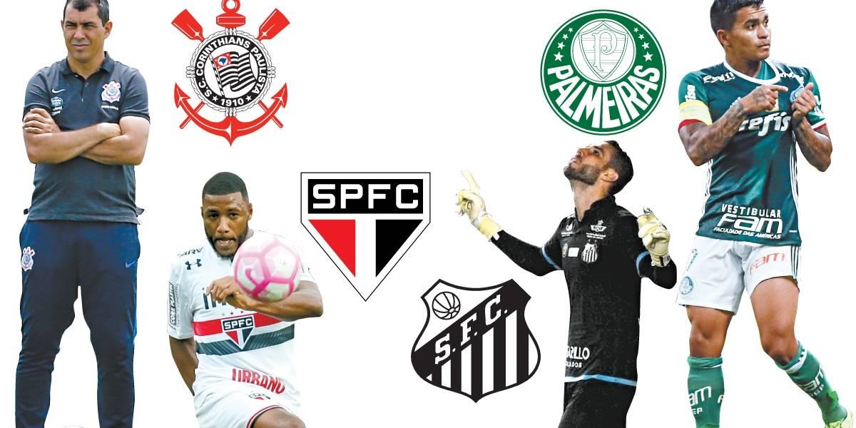 Grandes de São Paulo se mexem para montar elenco para o Estadual