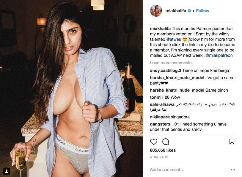 Instagram Mia Khlaifa