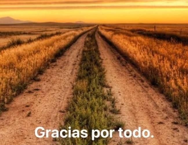 Mensaje de Víctor Valdés