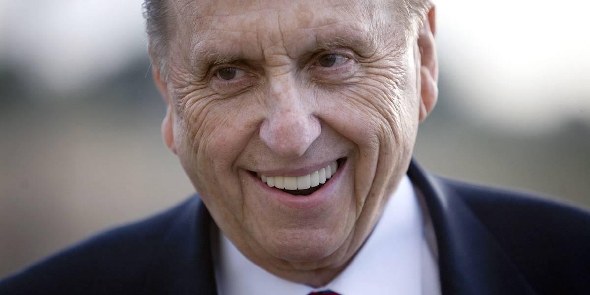 Muere a los 90 años el presidente de la Iglesia mormona