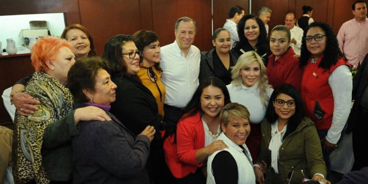 Meade pide apoyo a políticos de Aguascalientes
