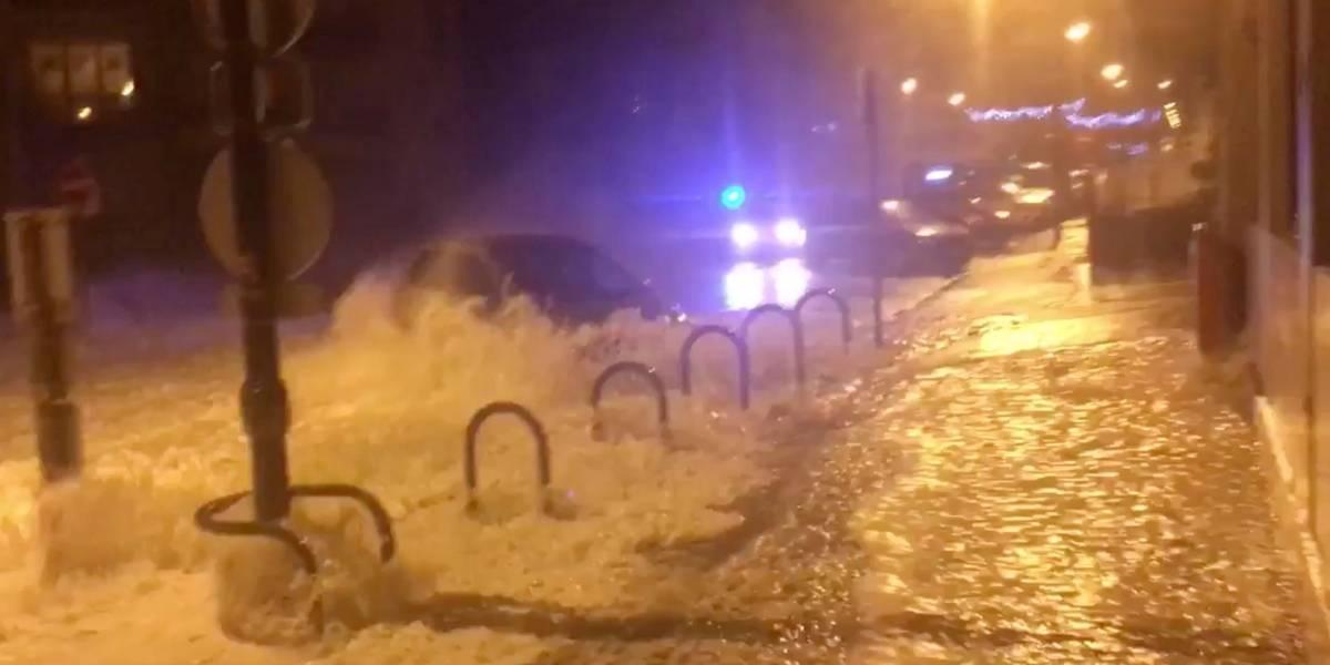 Tempestade Eleanor mata uma pessoa e deixa vários feridos na França