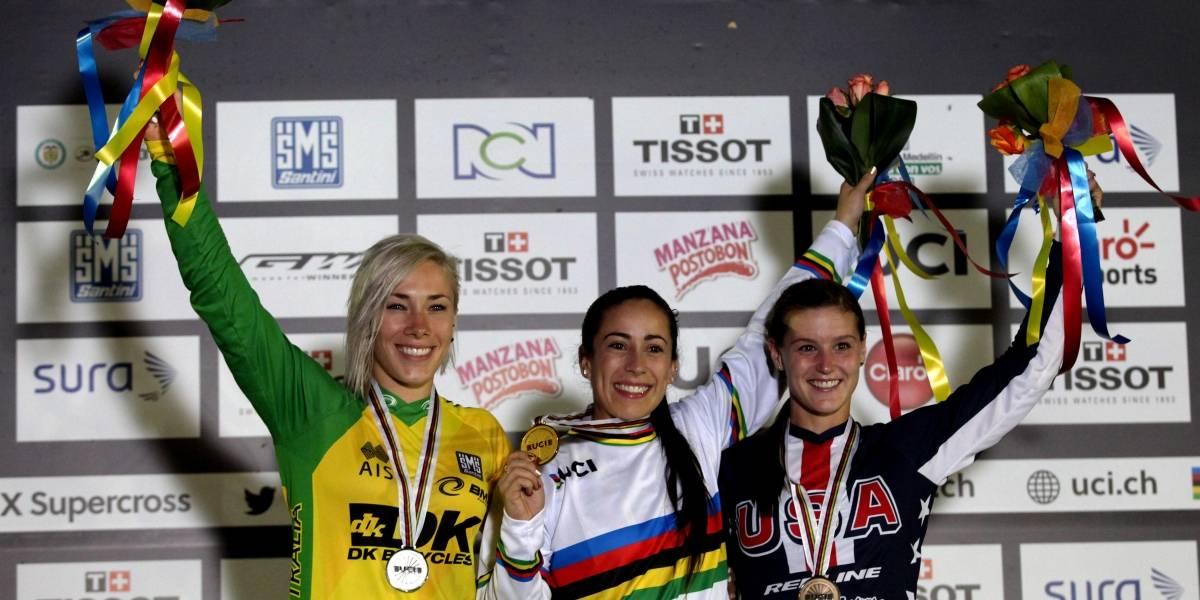 La gran rival de Mariana Pajón sufrió un escalofriante accidente