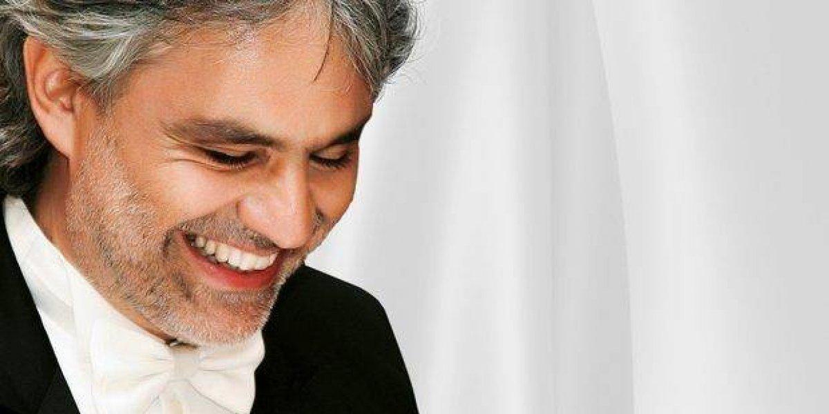 Andrea Bocelli cantará en el país  el sábado  24 de febrero en Hard Hotel Punta Cana