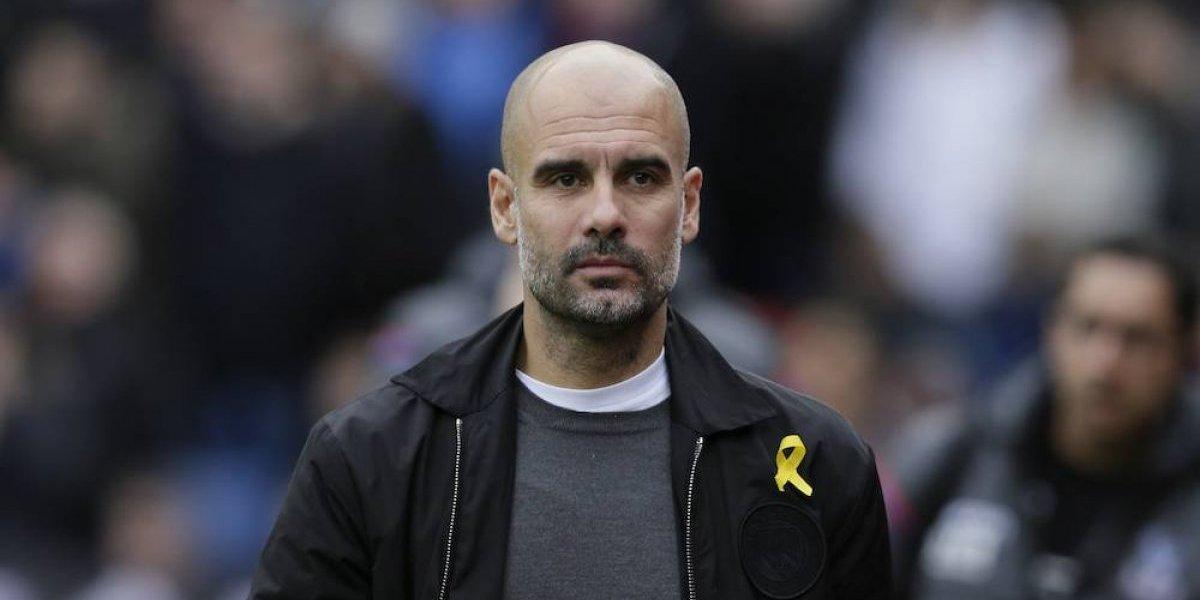 Guardiola critica el exceso de actividad en la Premier League