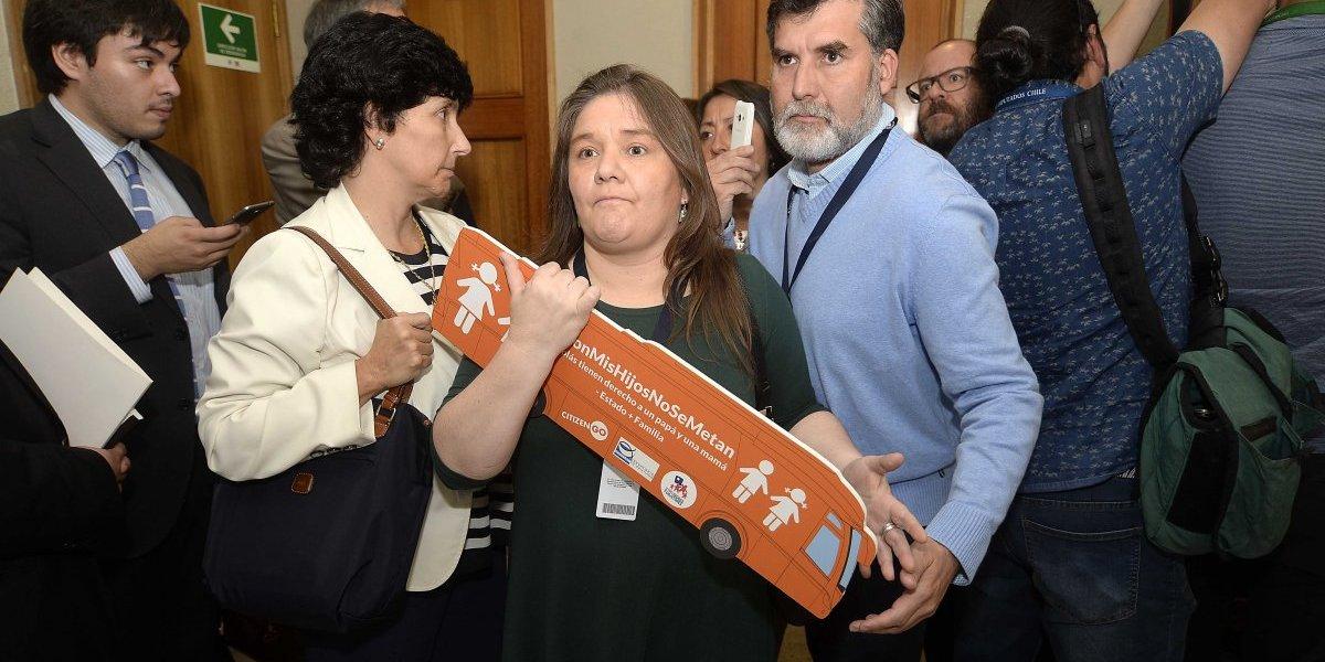 """Marcela Aranda en su exposición por Ley de Identidad Género: """"A mi hijo se lo llevó el lobby de la diversidad sexual"""""""