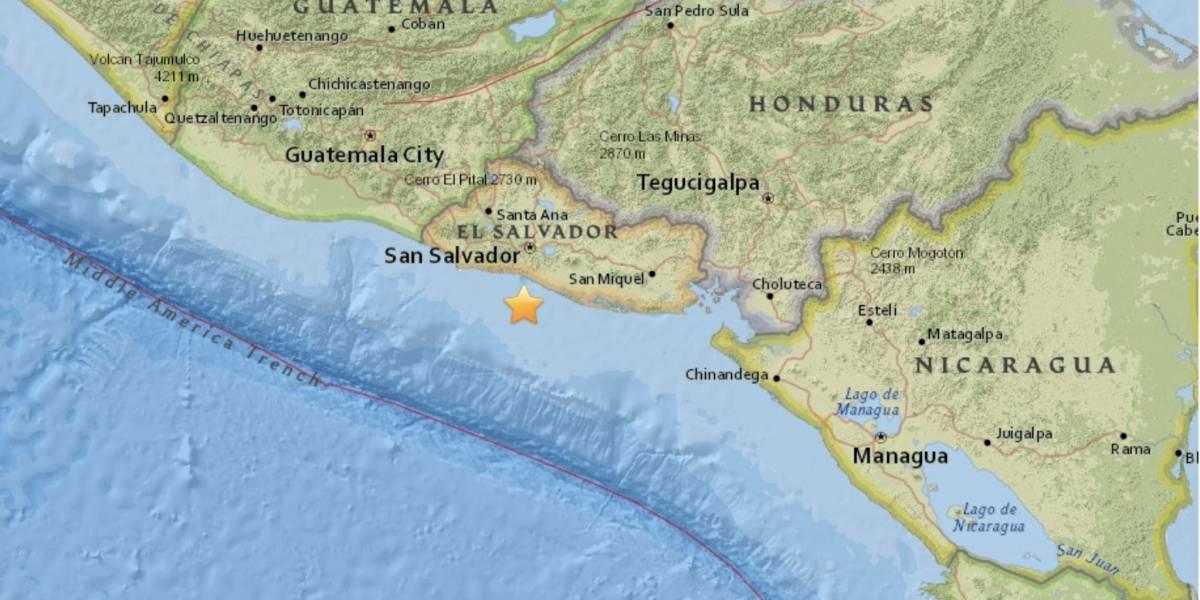 Sismo de magnitud 5,1 sacude El Salvador