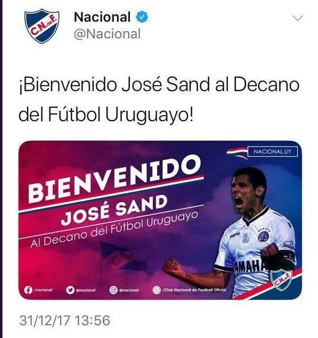 José Sand a Nacional