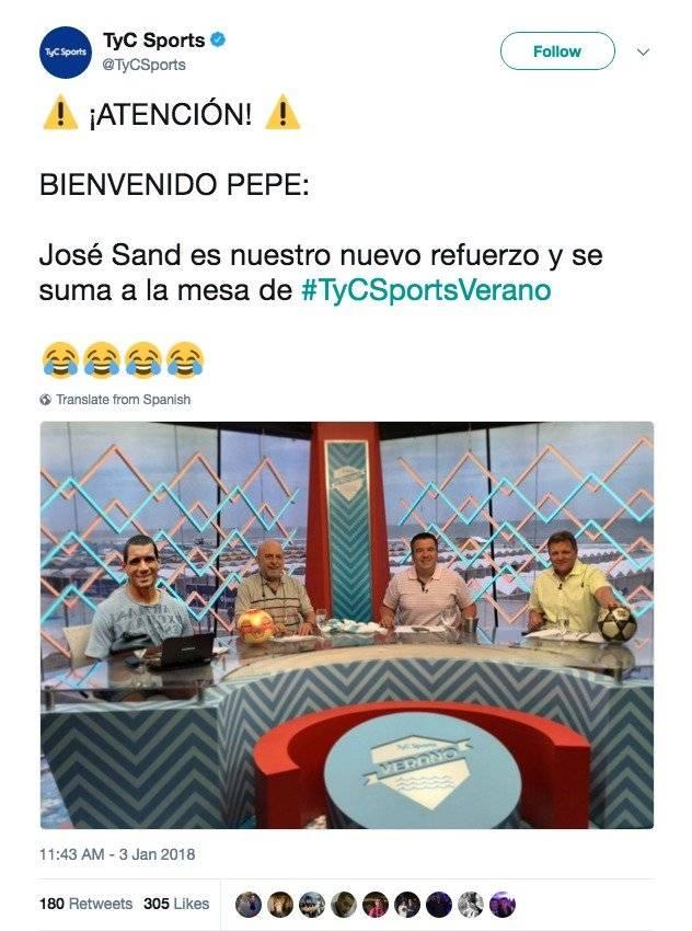 José Sand TyC