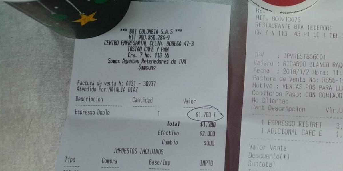 Las alzas en los precios tocaron hasta el café de Tostao