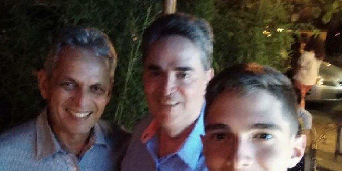 """Amigo """"sapeó"""" a Rueda: """"Con el mejor antes de emprender su viaje a Chile"""""""