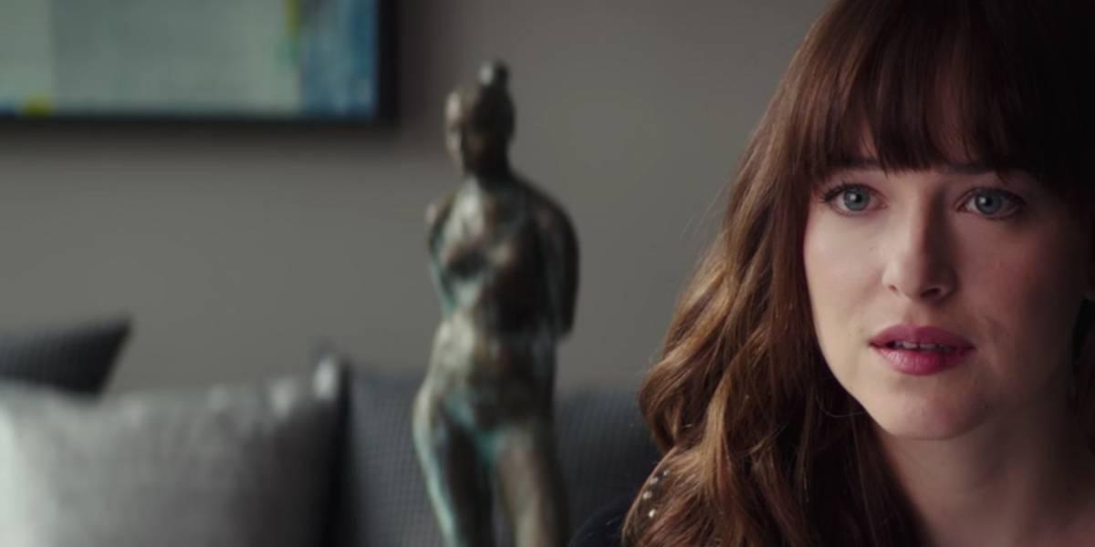 Nuevo tráiler de '50 sombras liberadas' revela posible embarazo de 'Anastasia'
