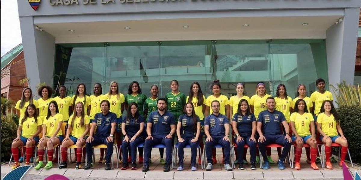 Ecuador femenino tiene a  22 jugadoras para el Sudamericano Sub 20