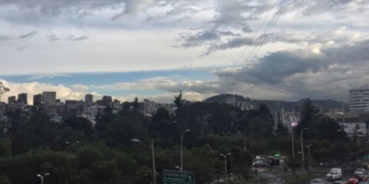Quito: Lluvias se mantendrán hasta el fin de semana