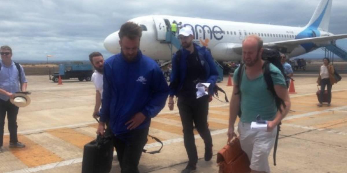 Tame implementó nuevo vuelo directo Quito-Baltra y viceversa