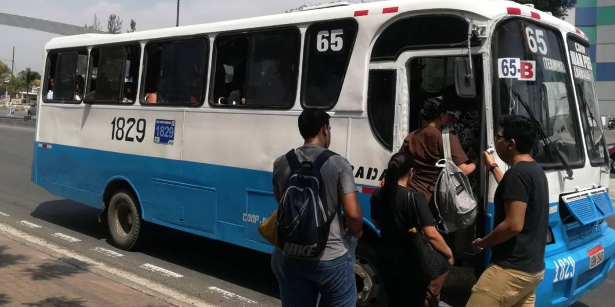 52 buses y 305 busetas no seguirán circulando en Guayaquil