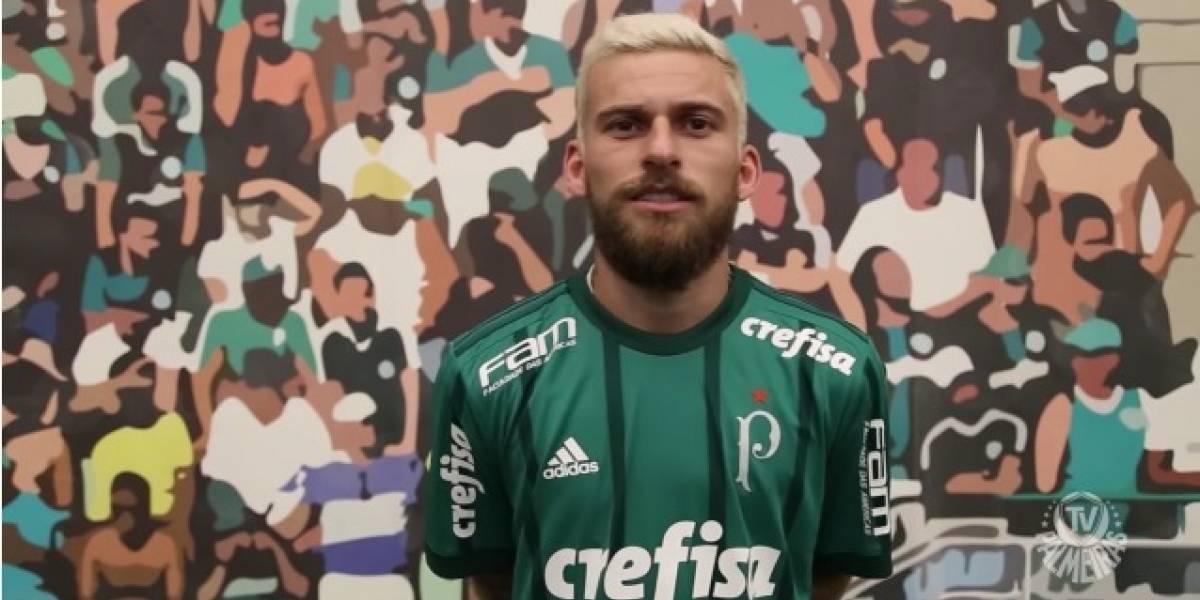 Lucas Lima prega respeito ao Palmeiras em apresentação e pensa em provocar rivais