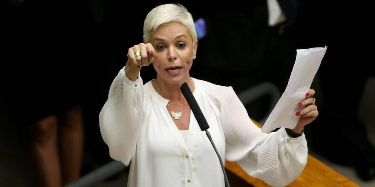 Cristiane Brasil vê perseguição por ser filha de Roberto Jefferson