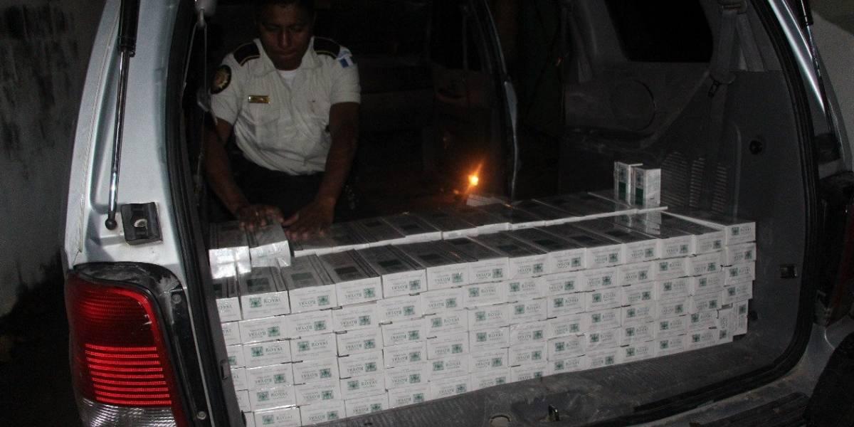 Incautan más de 1 millón de cigarros de contrabando