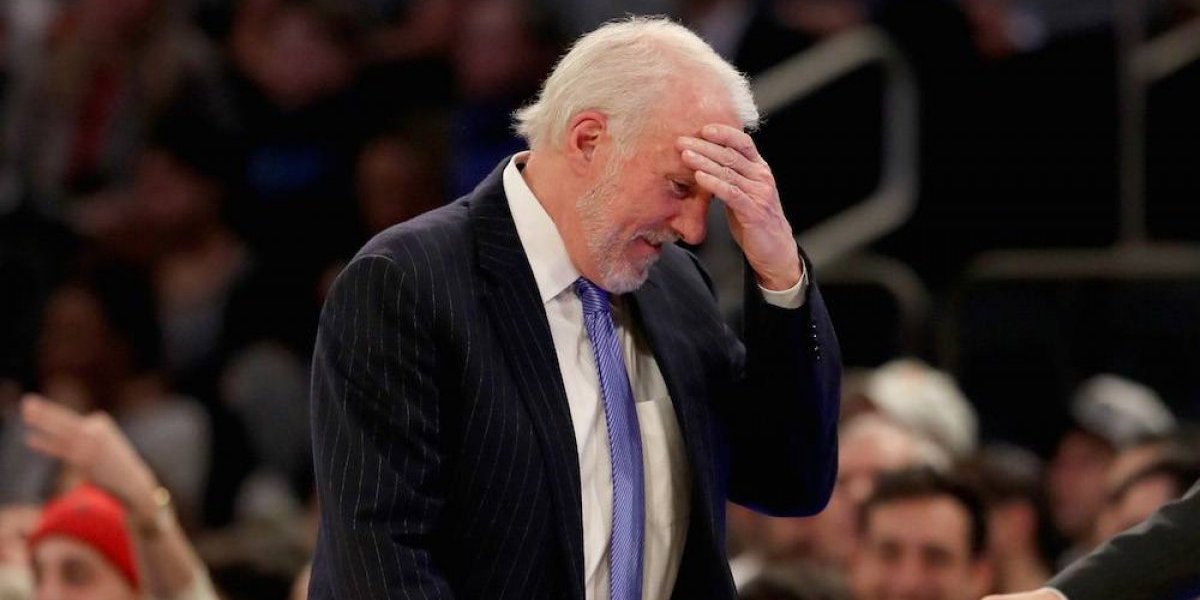 Gregg Popovich se convierte en el quinto coach más ganador en la historia de la NBA
