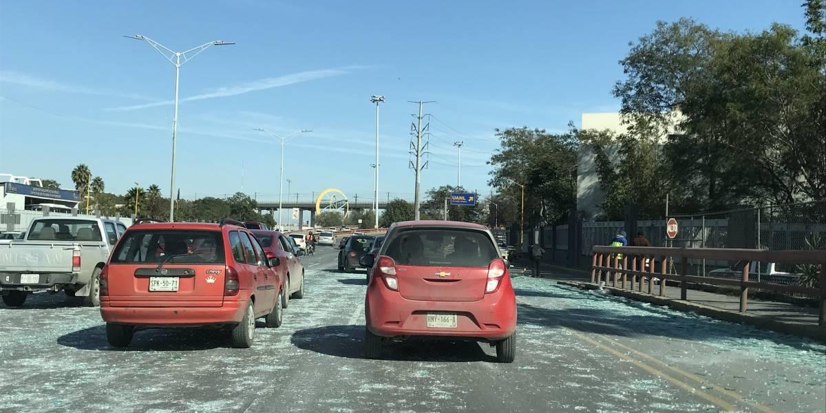 ¿Autos faquir? Sucedió en una avenida en San Nicolás