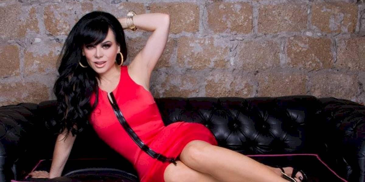 FOTO. Maribel Guardia muestra de más con sexy vestido transparente