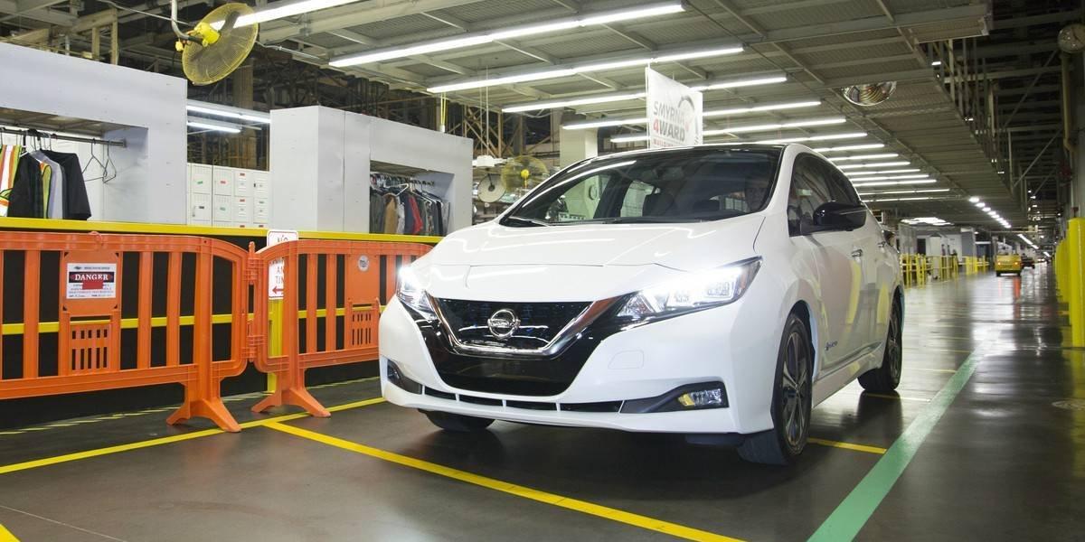 Nissan da el vamos a la producción del nuevo Leaf en EE.UU.