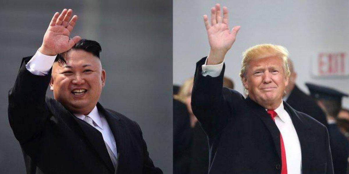 La fotografía que pone fin a la infantil polémica con Kim: ¿Trump lo tendrá grande?