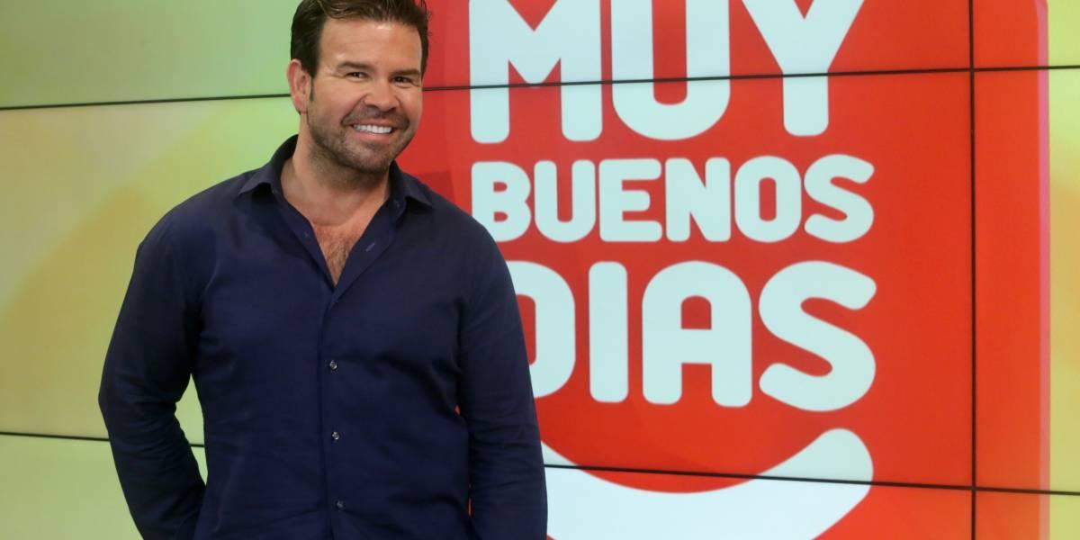 """""""Nacho"""" Gutiérrez arriba a TVN: """"Después de tantos 'chancacazos' tenían que pasar cosas buenas"""""""