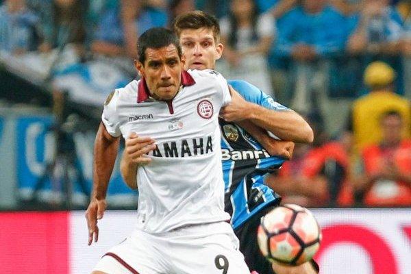 José Sand fue el goleador de Lanús en la histórica campaña que llevó al club granate a la final de la Libertadores 2017 / Foto: Getty Images