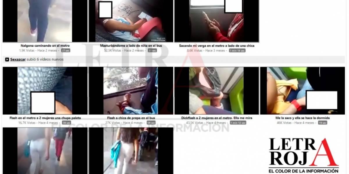 Acosador presume en página porno sus 'hazañas' en el Metro