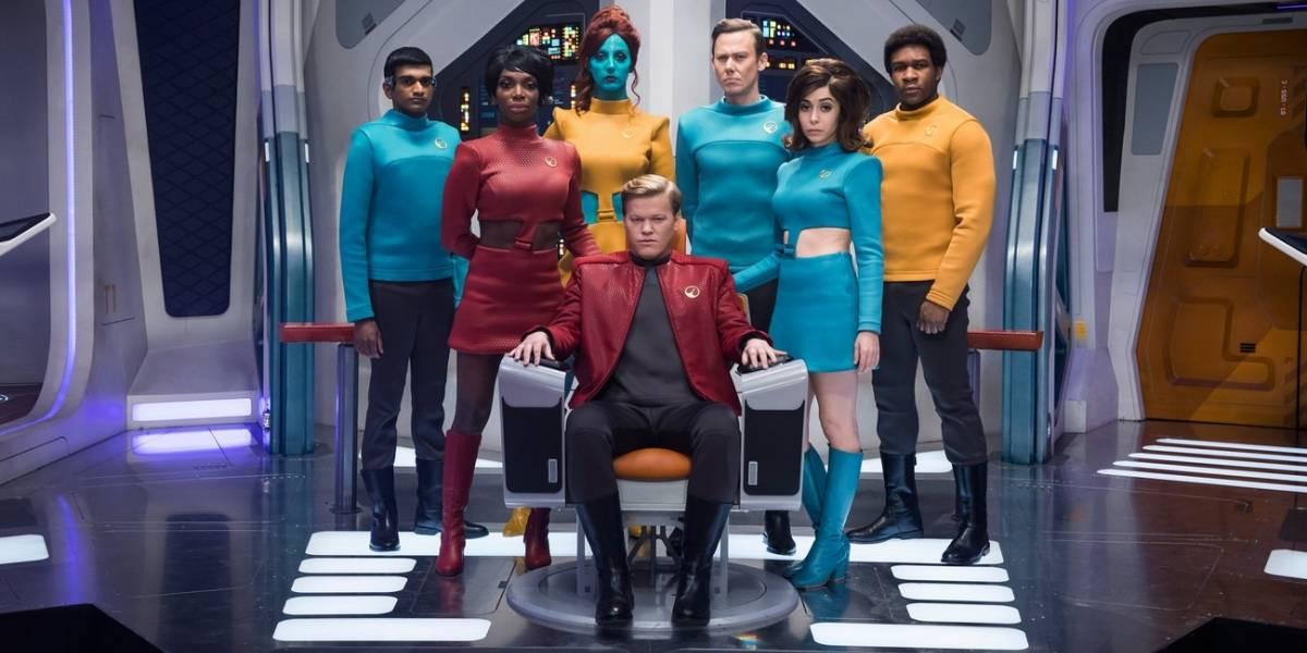 Black Mirror: episódio que faz paródia de Star Trek pode virar série