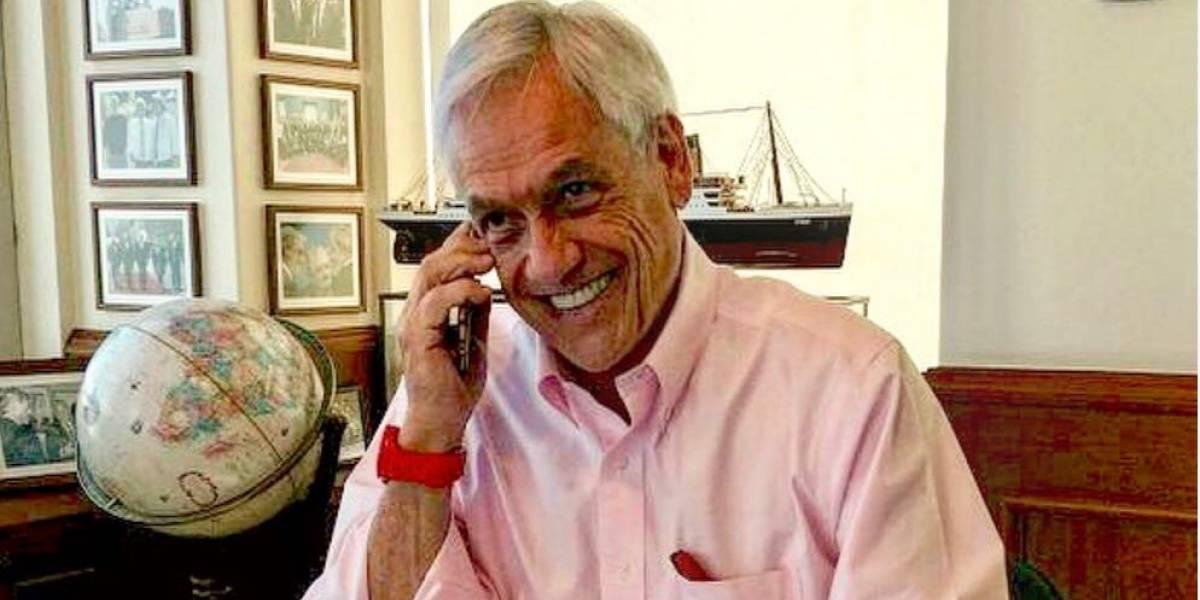 Donald Trump llama al Presidente electo Sebastián Piñera y lo invita a la Casa Blanca