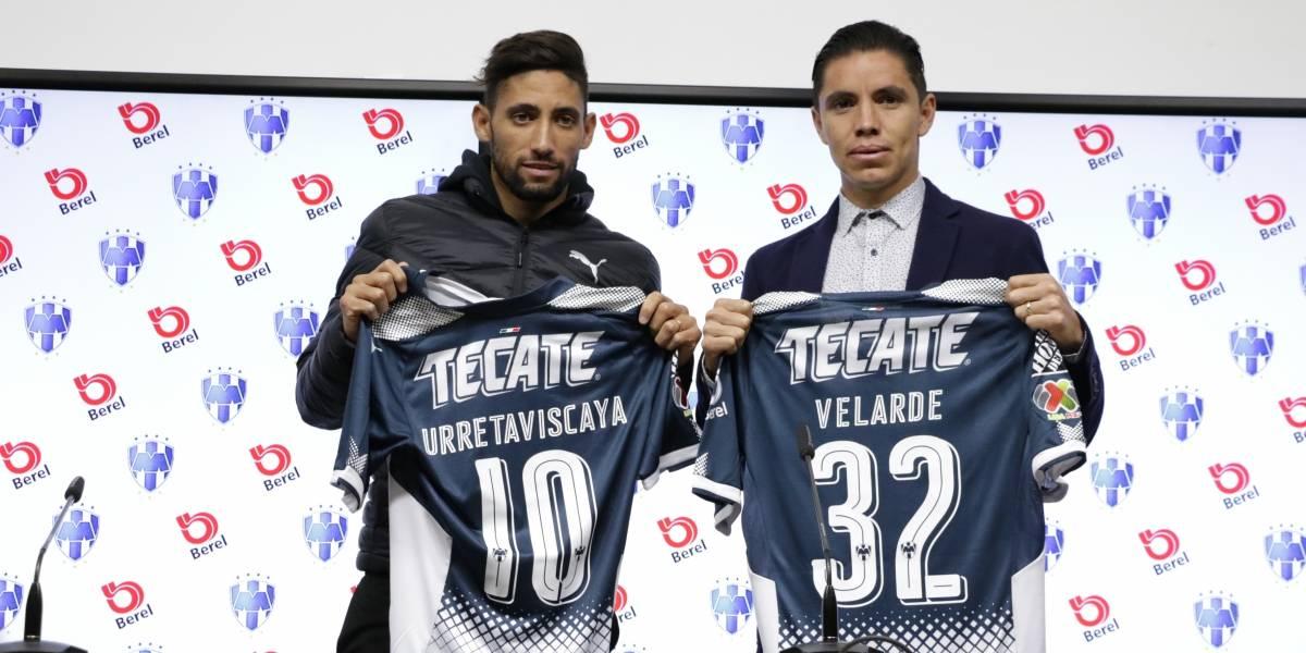 Presenta Rayados a Urretaviscaya y Velarde para el Clausura 2018