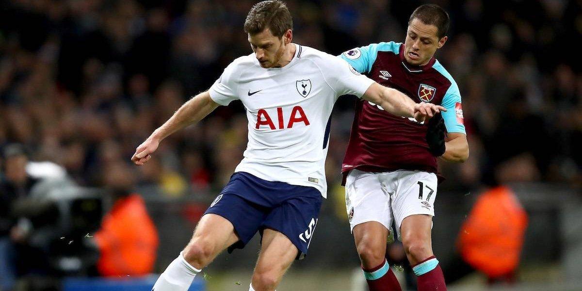 ¡Sigue sin gol! 'Chicharito' es titular en empate ante el Tottenham
