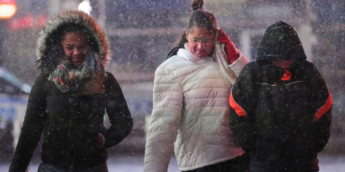 Frio recorde mata ao menos 11 pessoas em 24 horas nos EUA