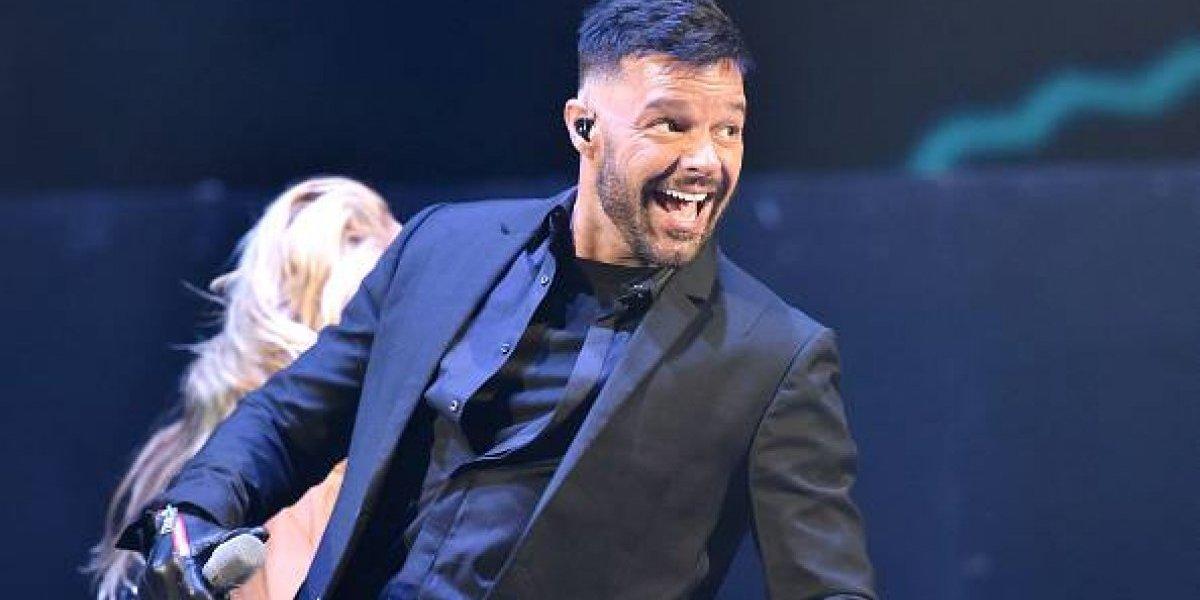 Ricky Martin ya está en Ecuador y envía mensaje a todos sus fans