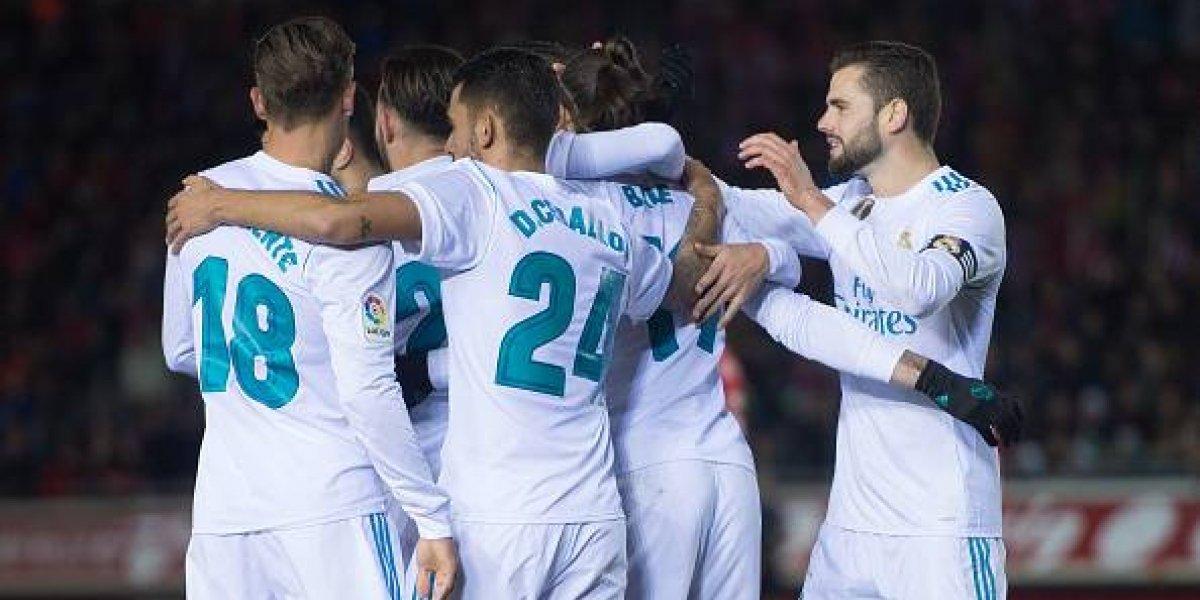 Un Real Madrid plagado de suplentes no se despeinó para golear en la Copa del Rey