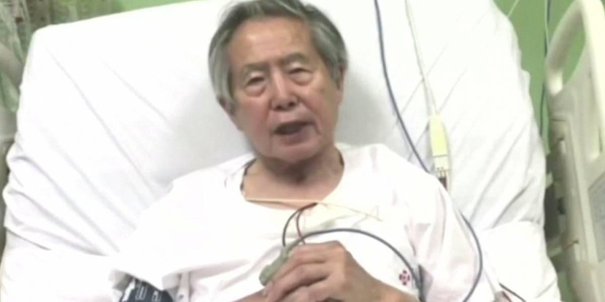 """Alberto Fujimori dice anhelar """"un Perú sin rencores"""""""