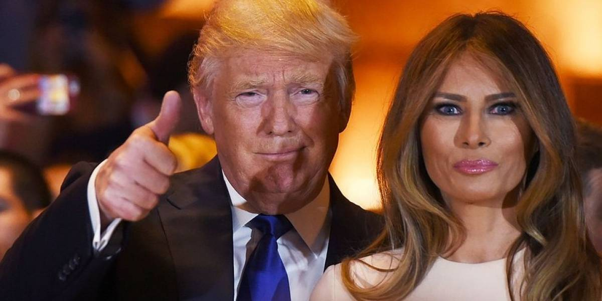 Trump comprou apenas um cartão de aniversário para Melania: 'estou muito ocupado'