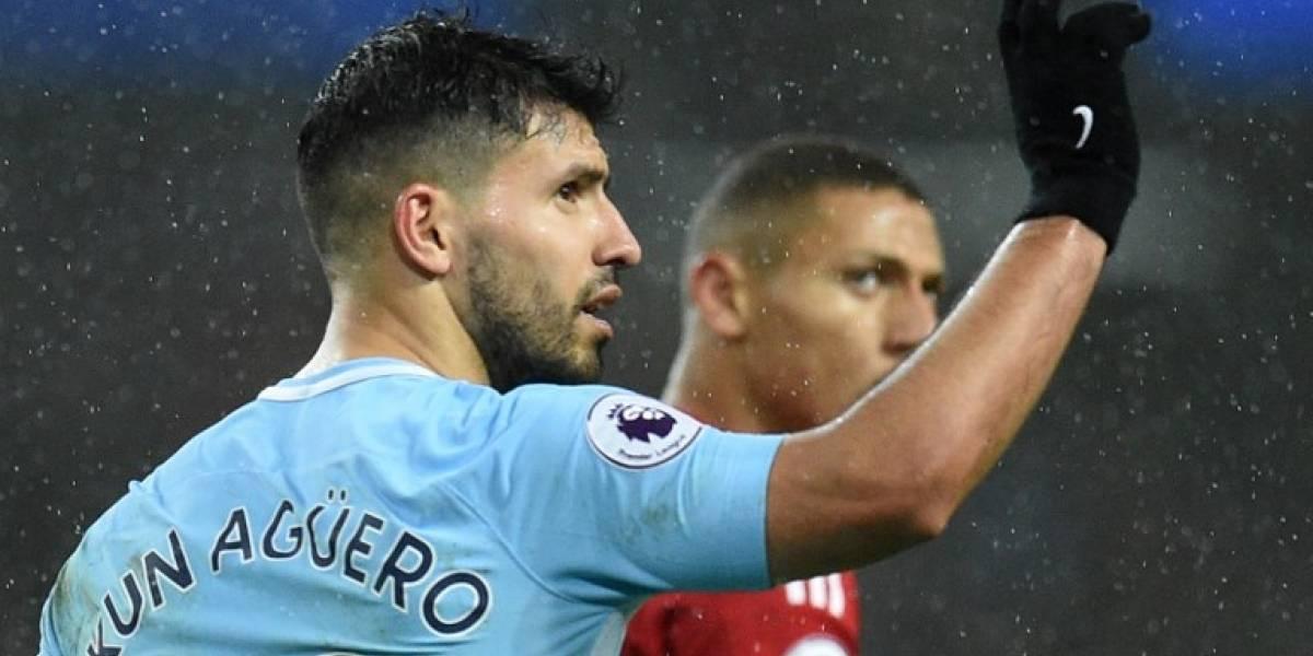 """El """"Kun"""" Agüero rompe el silencio sobre su posible salida del Manchester City"""