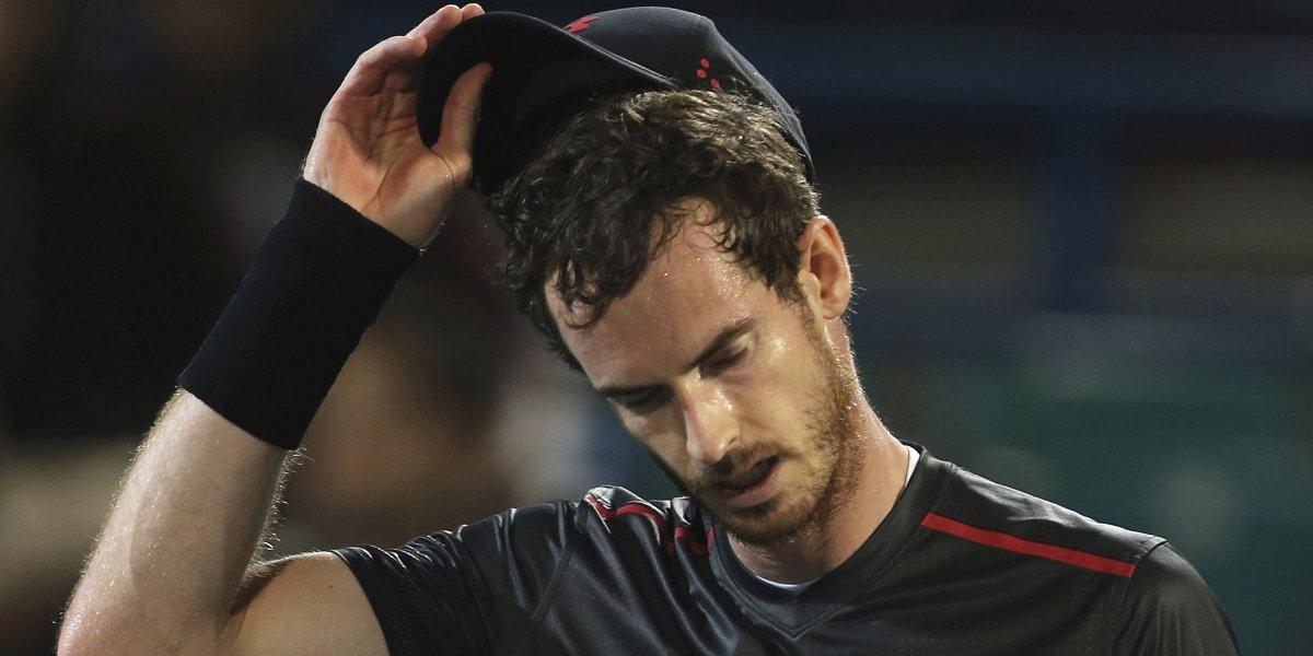 Problemas de cadera alejan a Murray del Abierto de Australia