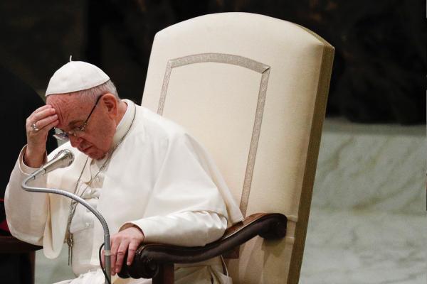 El Papa Francisco, durante una audiencia.
