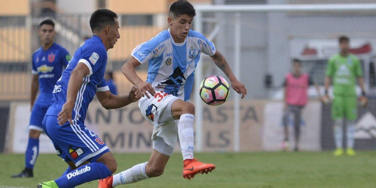 Ángelo Araos se convirtió en el segundo refuerzo de la U de cara a la temporada 2018