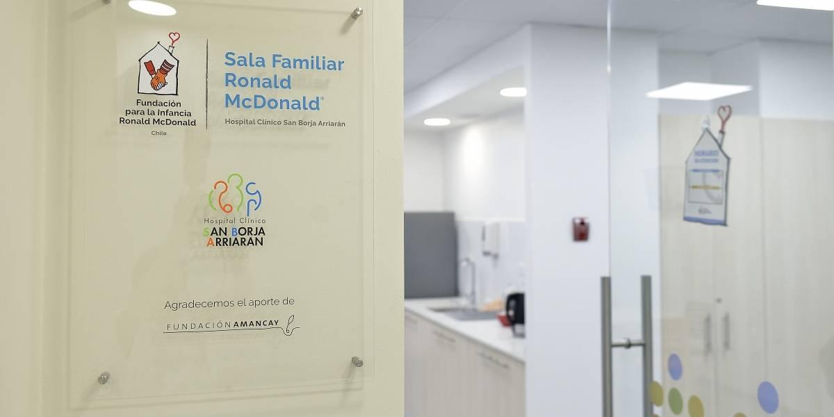 Hospital San Borja Arriarán ya cuenta con su primera sala familiar para acompañar a los niños