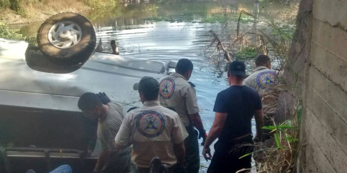 Muere hombre tras a salvar a dos niños en un río de NL