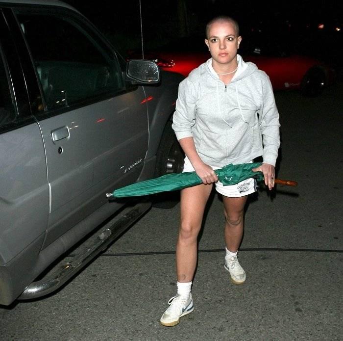 Britney Spears cabeza rapada