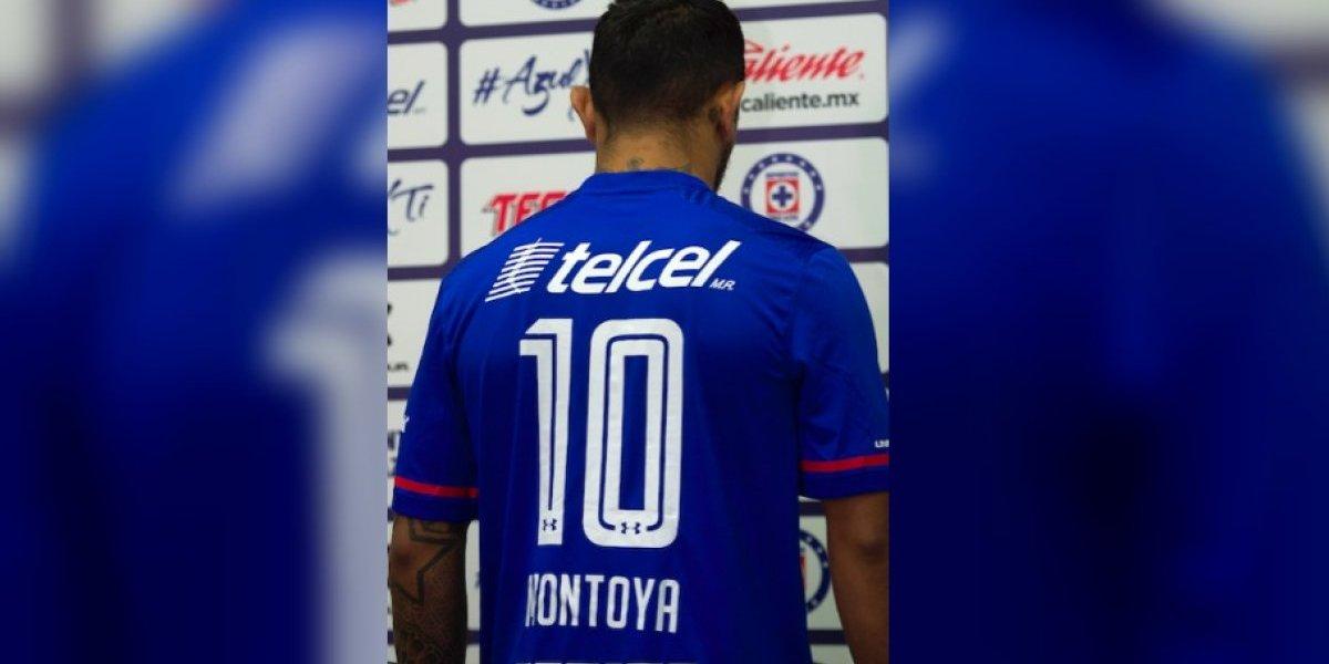 Montoya, el heredero del 10 de 'Chaco' Giménez en Cruz Azul