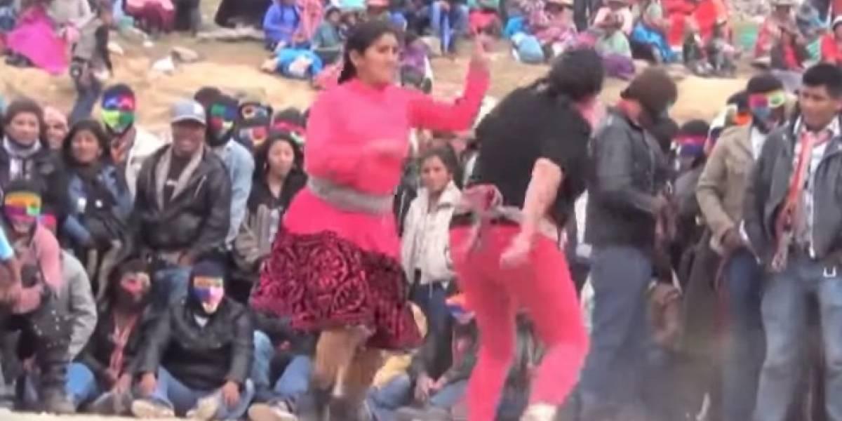 Takanakuy: Puñetazos con los que indígenas peruanos saldan cuentas en año nuevo