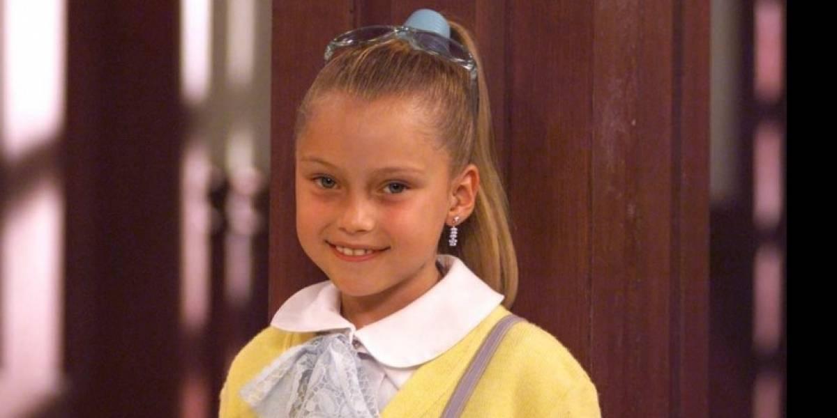 ¡Ya tiene 22! Así luce ahora la actriz que interpretaba a Simoneta en 'Qué vivan los niños'